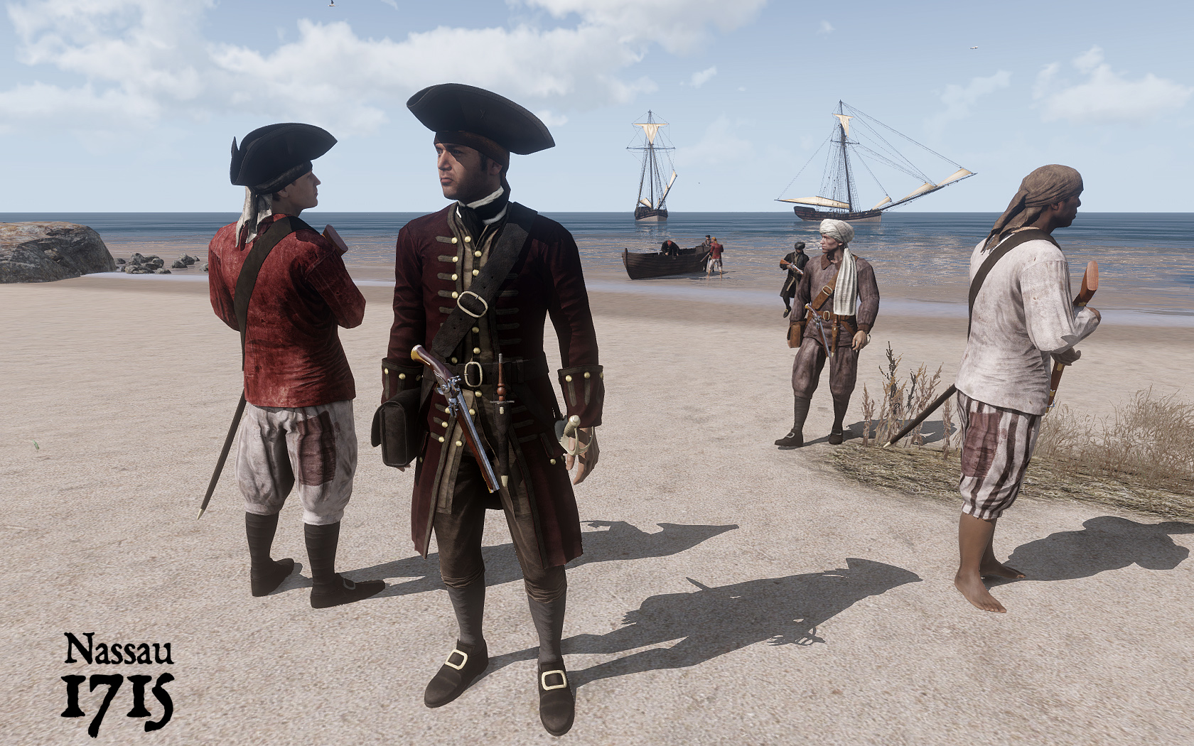 Nassau 1715 - Arma 3 mod   PiratesAhoy!